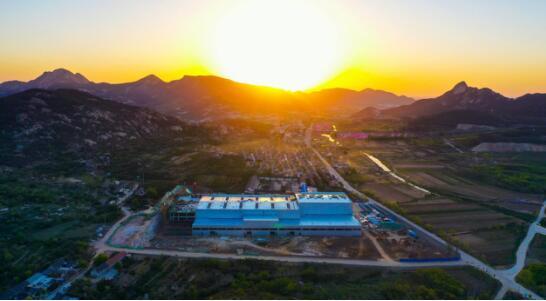 文登:山村桃花岘对接全球功能性饮品研发中心